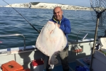 Conn with a lovely Turbot