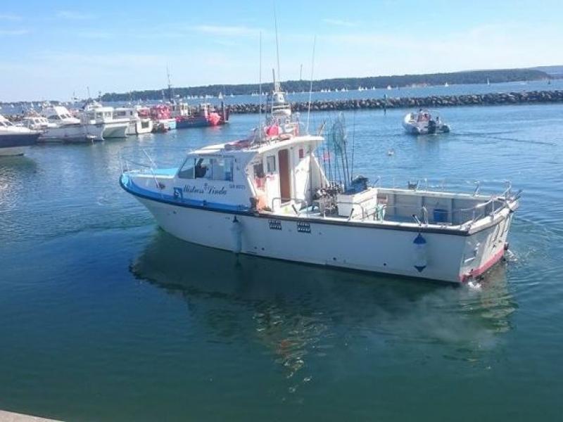 Mistress Linda Charter Boat Poole, Dorset